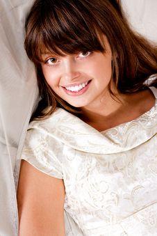 Free Portrait Of Beauty Brunette Stock Photos - 17394423