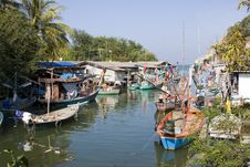 Free Fisherman Village ,Thailand Royalty Free Stock Photography - 17394457