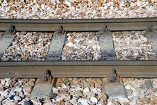 Free Railroad Track Royalty Free Stock Photography - 17394517