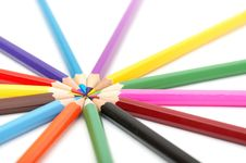 Free Color Pencils Stock Photo - 17394530