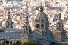 Free Montjuic National Palace Stock Photos - 17395683