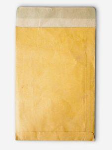 Free Brown Paper Bag Vertical Stock Image - 17395701