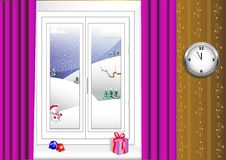 Free Interior With Window. Vector 10eps. Royalty Free Stock Image - 17395946