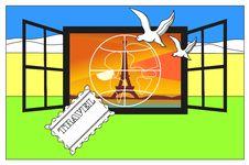 Free Big Eiffel Tower Stock Image - 17396041