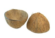 Free Coconut Broken Shell Stock Photography - 17396092