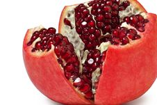 Free Open Pomegranate Stock Image - 17396791