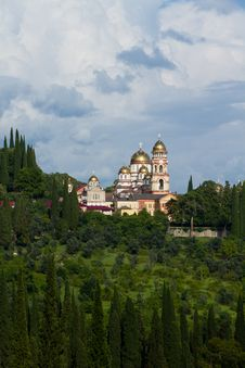 Free Orthodox Monastery Royalty Free Stock Images - 17396989