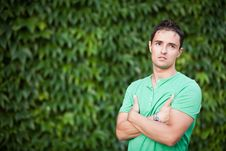 Free Portrait Of A Casual Handsome Man Stock Photo - 17397020