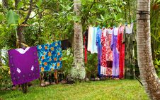 Free Laundry On The Line Royalty Free Stock Image - 17397456
