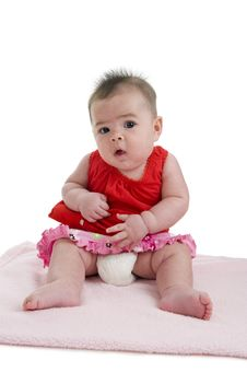 Free Cute Asian-caucasian Baby Stock Photos - 17397853