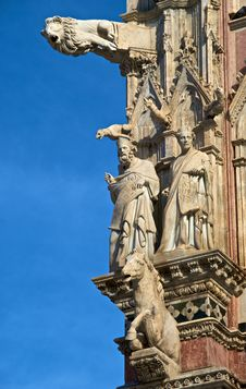 Free Detail On Siena Cathedral Royalty Free Stock Photos - 17397868
