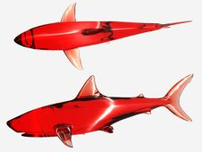 Free Red Sharks Stock Photo - 17398070