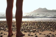 Free Woman On The Beach - Legs Stock Photos - 17398083
