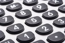 Free Calculator Royalty Free Stock Photography - 17398337