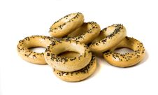 Free Bagels With Poppy Seeds Royalty Free Stock Photos - 17399308