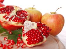 Free Pomegranate Fruit Stock Image - 17399321