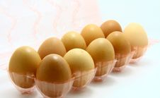 Free Eggs Royalty Free Stock Photography - 17399427