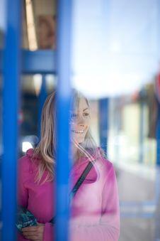 Free Beautiful Young Woman Shopping Stock Image - 17399461