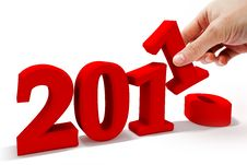 Free New Year 2011 Stock Photo - 17399880