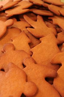 Free Gingerbreads Stock Photos - 1740043