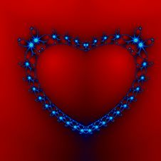 Jewelry Heart Royalty Free Stock Photography