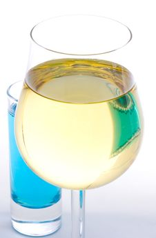 Free White Wine Glass Stock Photography - 1742342