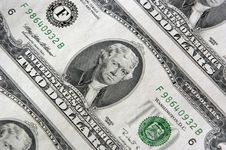 Free Two Dollar Bill Sheet Royalty Free Stock Photography - 1743007