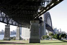 Free Under The Sydney Harbour Bridge Stock Images - 1743334