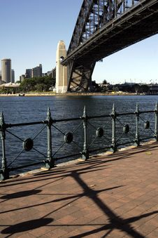 Free Path At The Sydney Harbour Bridge Stock Photography - 1743362