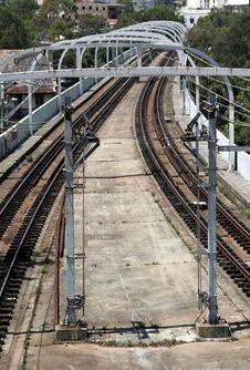 Free Railway Tracks Stock Image - 1743431