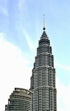 Kuala Lumpur Landmarks Stock Photo