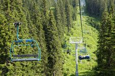 Free Chairlift Royalty Free Stock Image - 1744176