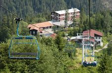 Free Chairlift Royalty Free Stock Photography - 1744337