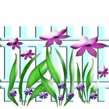 Free Spring Garden Art Royalty Free Stock Image - 1745026