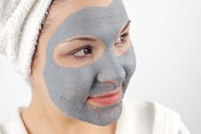 Free Spa Mask 7 Royalty Free Stock Images - 1745069