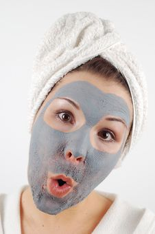 Free Spa Mask 12 Royalty Free Stock Photo - 1745115
