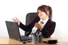 Free Businesswoman At Desk 12 Stock Images - 1745164