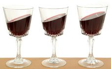 Free Wineglasses And Gravity Stock Image - 1745361