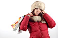 Free Winter Shopping 10 Stock Images - 1745444
