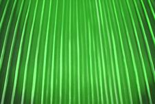 Green Fluted Texture Royalty Free Stock Photo