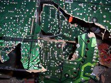 Free Broken Circuit Royalty Free Stock Photos - 1747658