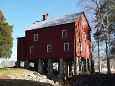Free Grist Mill, TN Royalty Free Stock Photography - 1748017