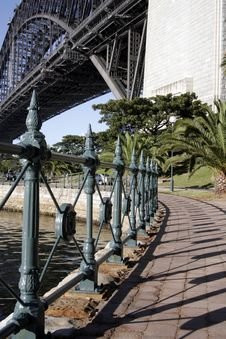 Free Path At The Sydney Harbour Bridge Stock Photos - 1748723