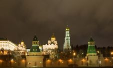 Free Kremlin Cathedral Stock Photo - 1749370