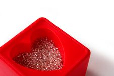Free Heart-shaped Box Closeup Stock Photography - 1749552