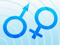 Free Machismo And Feminine Symbols Royalty Free Stock Images - 17400099