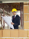 Free Architect In Construction Site Royalty Free Stock Image - 17401846