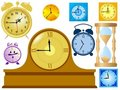 Free Set Of Clocks Stock Photo - 17406920