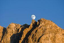 Free Balanced Moon Stock Image - 17400481