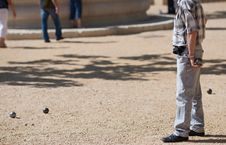 Boules (Petanque) Game Royalty Free Stock Images